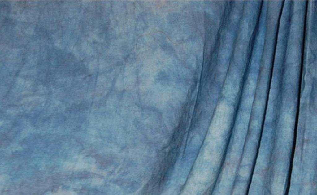 savage Фон Savage Accent Crushed Muslin Apex Blue 3.04m x 3.65m