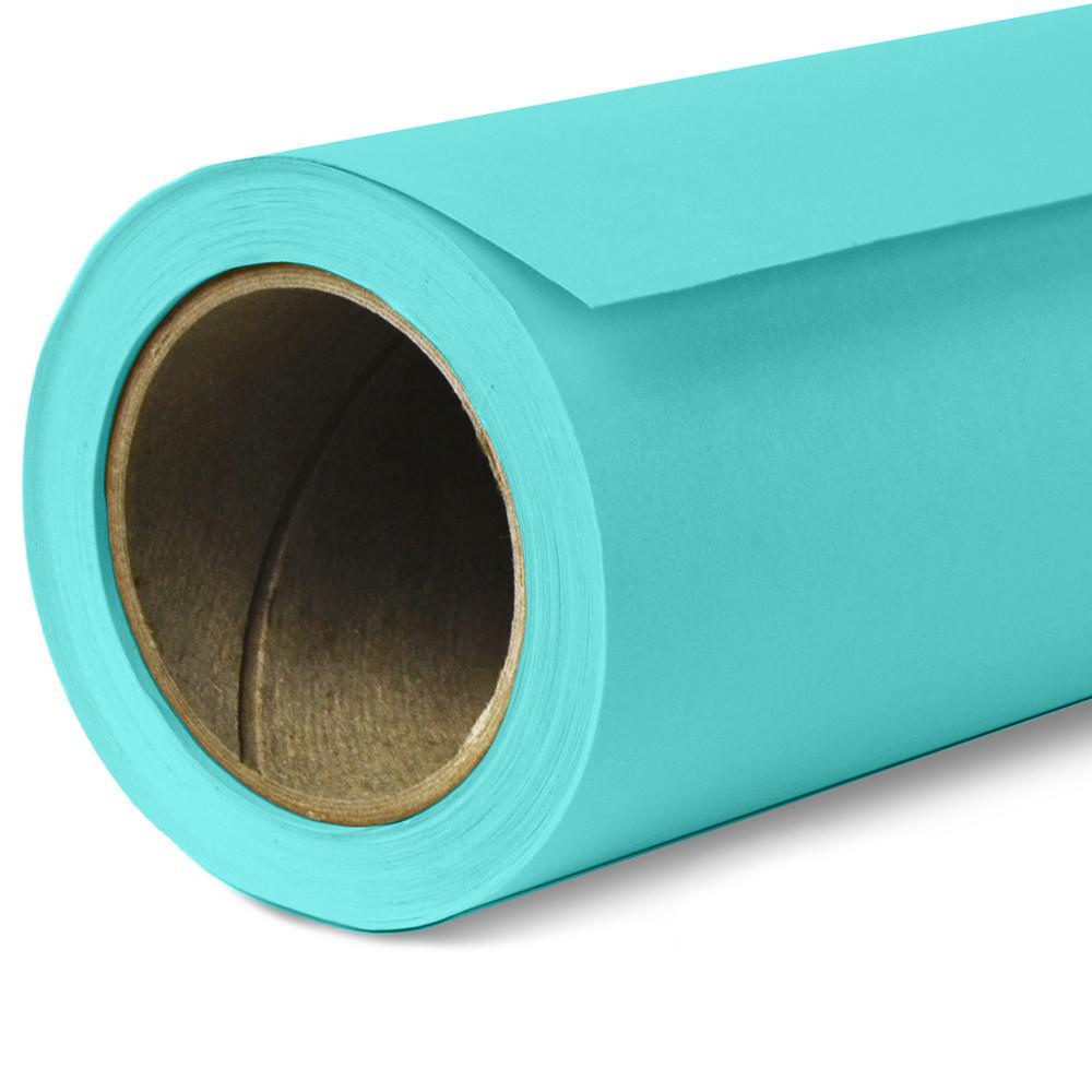 Фон бумажный Savage Widetone Baby Blue рулон 1.36 x 11 м