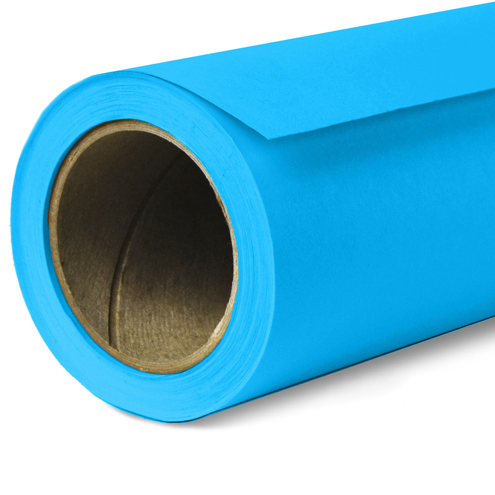 Фон бумажный Savage Widetone Blue Jay 31 Синий рулон 2.72 x 11 м