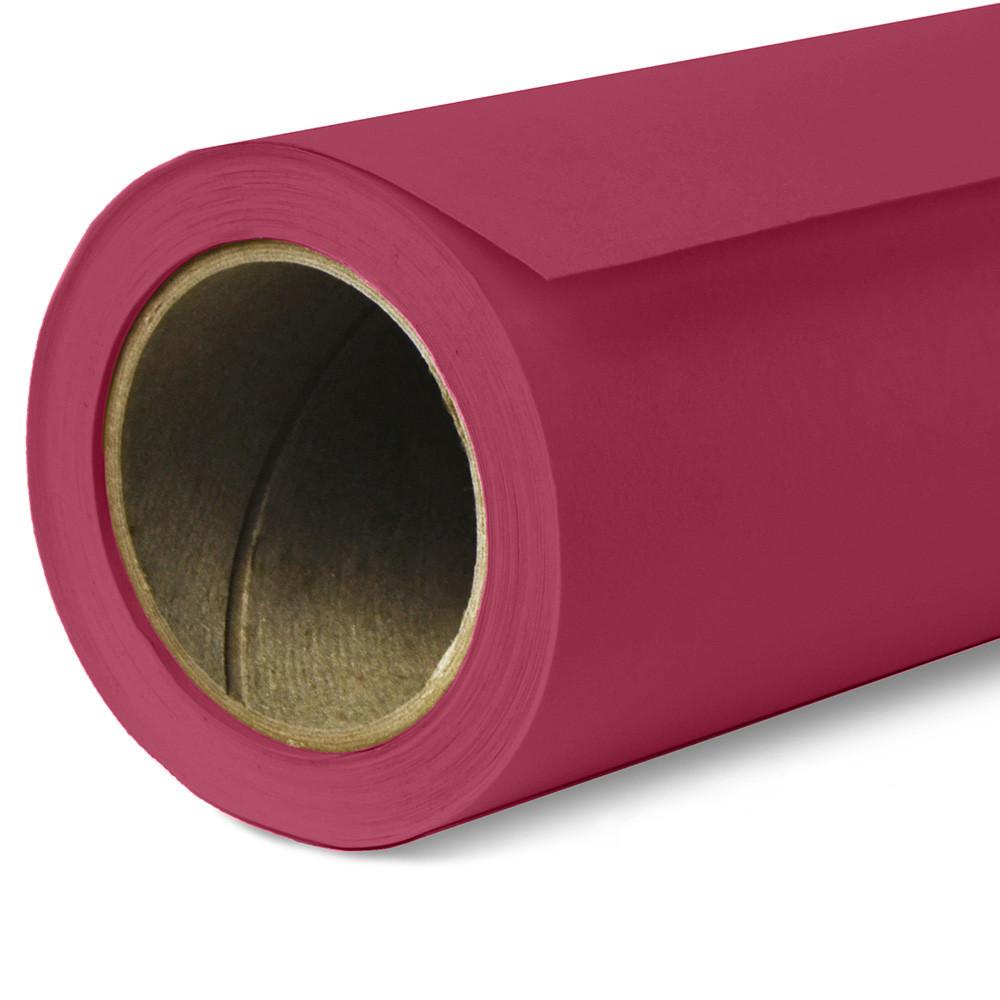 Фон бумажный Savage Widetone Crimson 6 Малиновый рулон 1.36 x 11 м