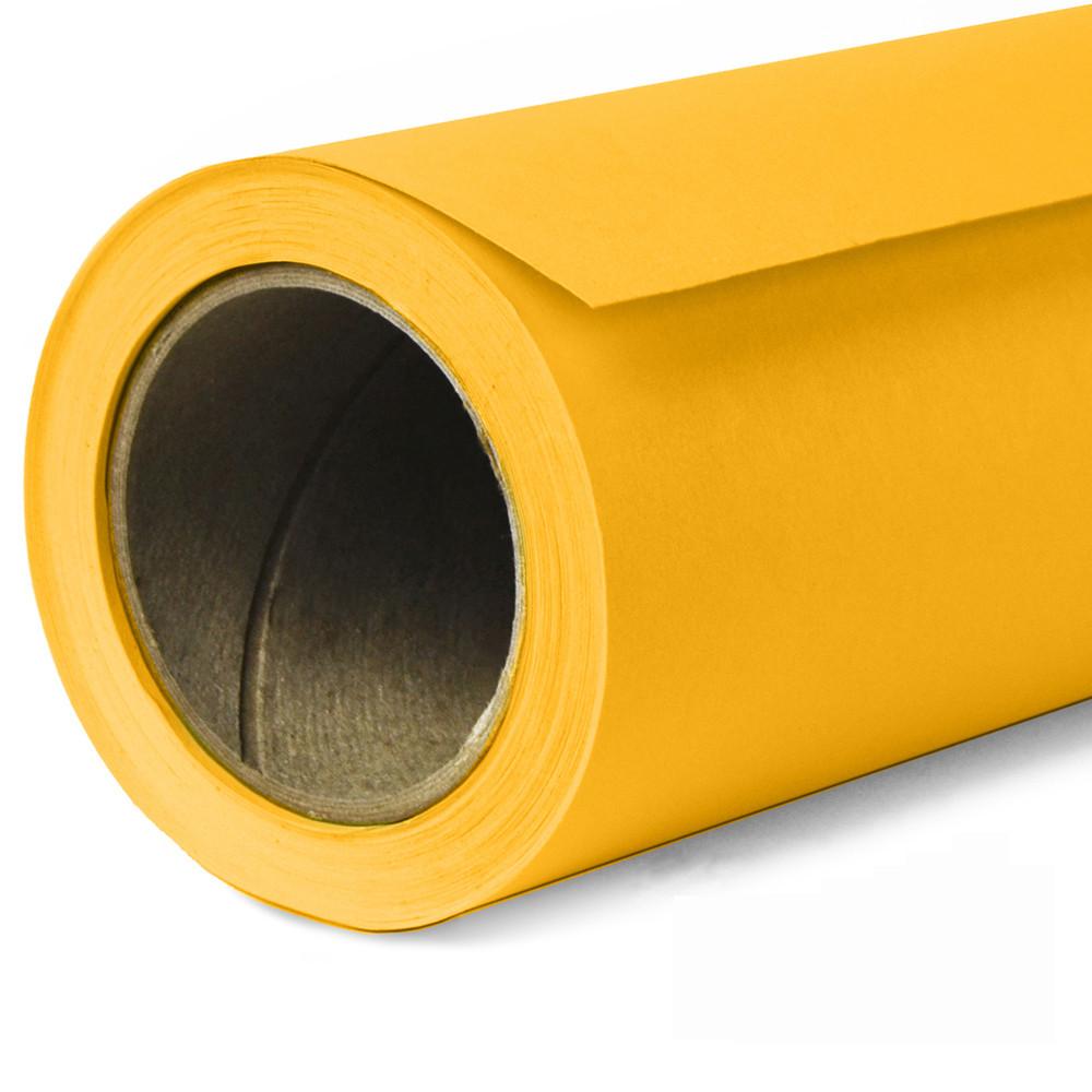 Фон бумажный Savage Widetone Deep Yellow рулон 1.36 x 11 м