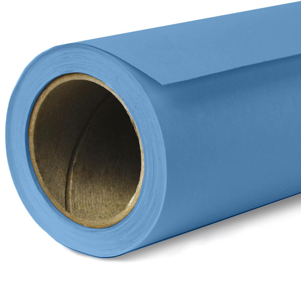 Фон бумажный Savage Widetone Gulf Blue рулон 2.72 x 11 м