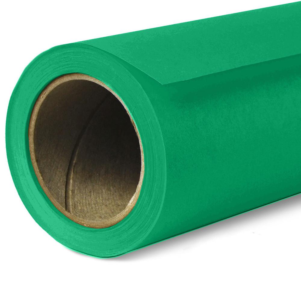Фон бумажный Savage Widetone Holly 35 Зелёный рулон 1.36 x 11 м