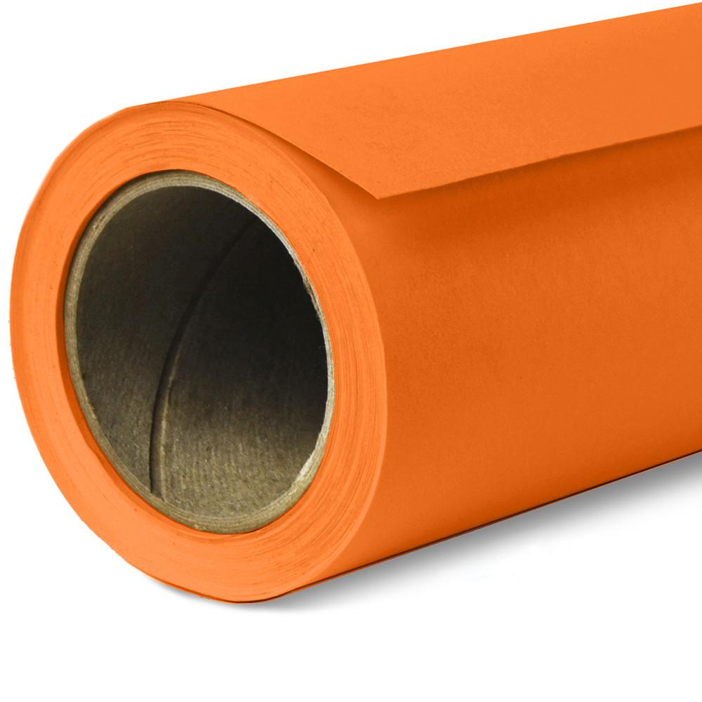 Фон бумажный Savage Widetone Orange 24 Оранжевый рулон 2.72 x 11 м
