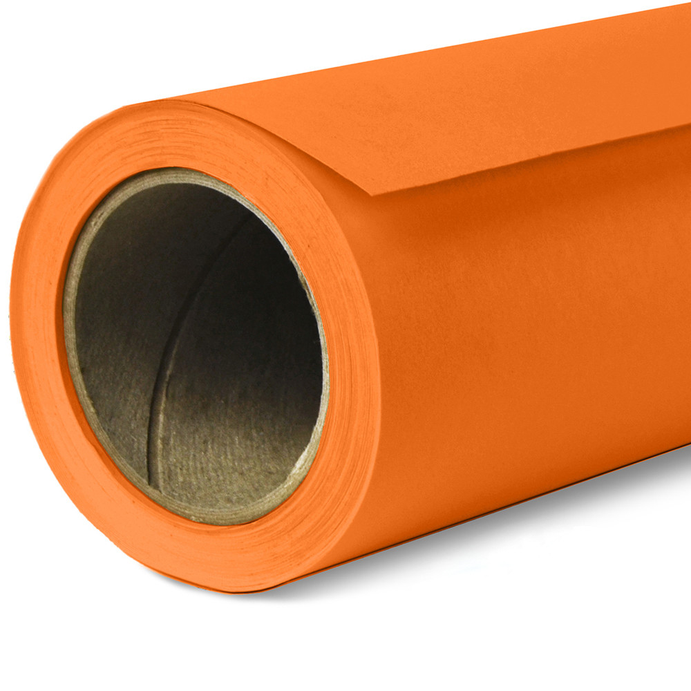 Фон бумажный Savage Widetone Orange рулон 1.36 x 11 м
