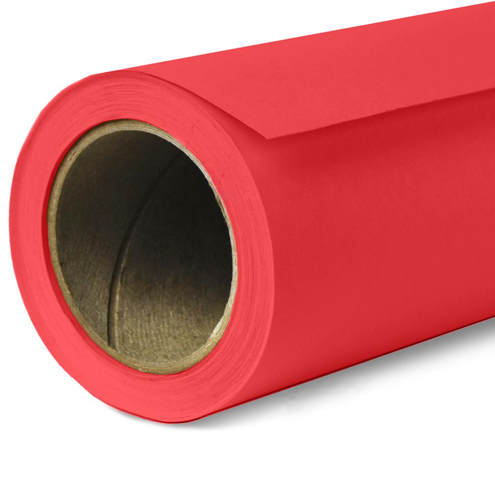 Фон бумажный Savage Widetone Primary Red рулон 1.36 x 11 м