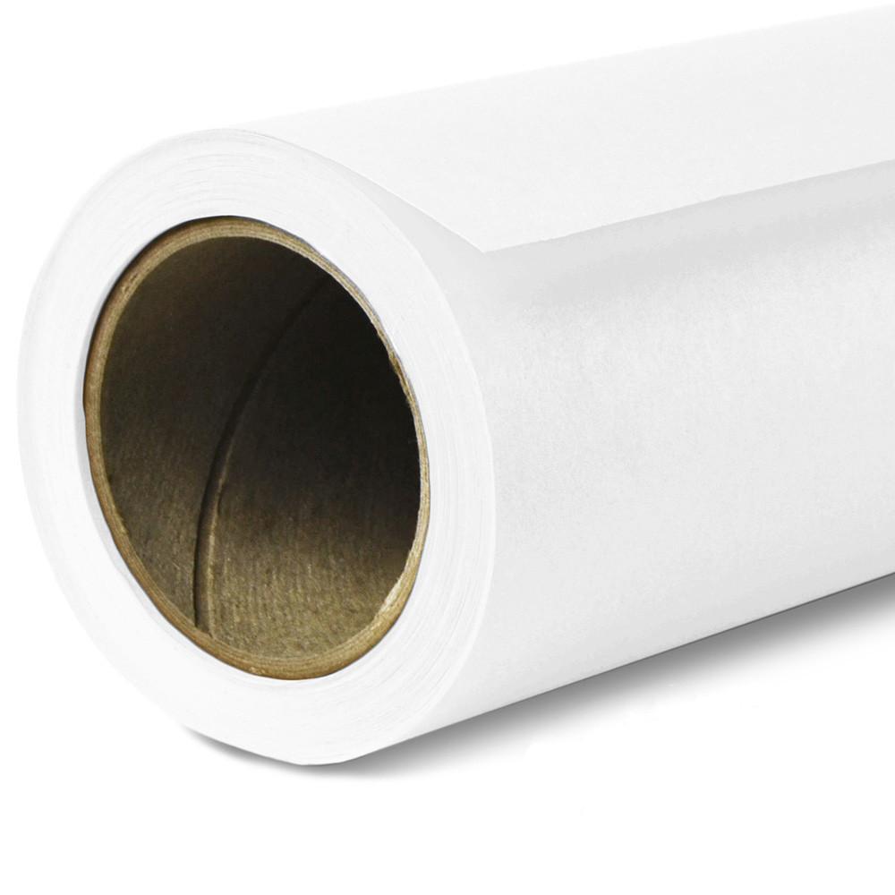 Фон бумажный Savage Widetone Pure White рулон 1.36 x 11 м