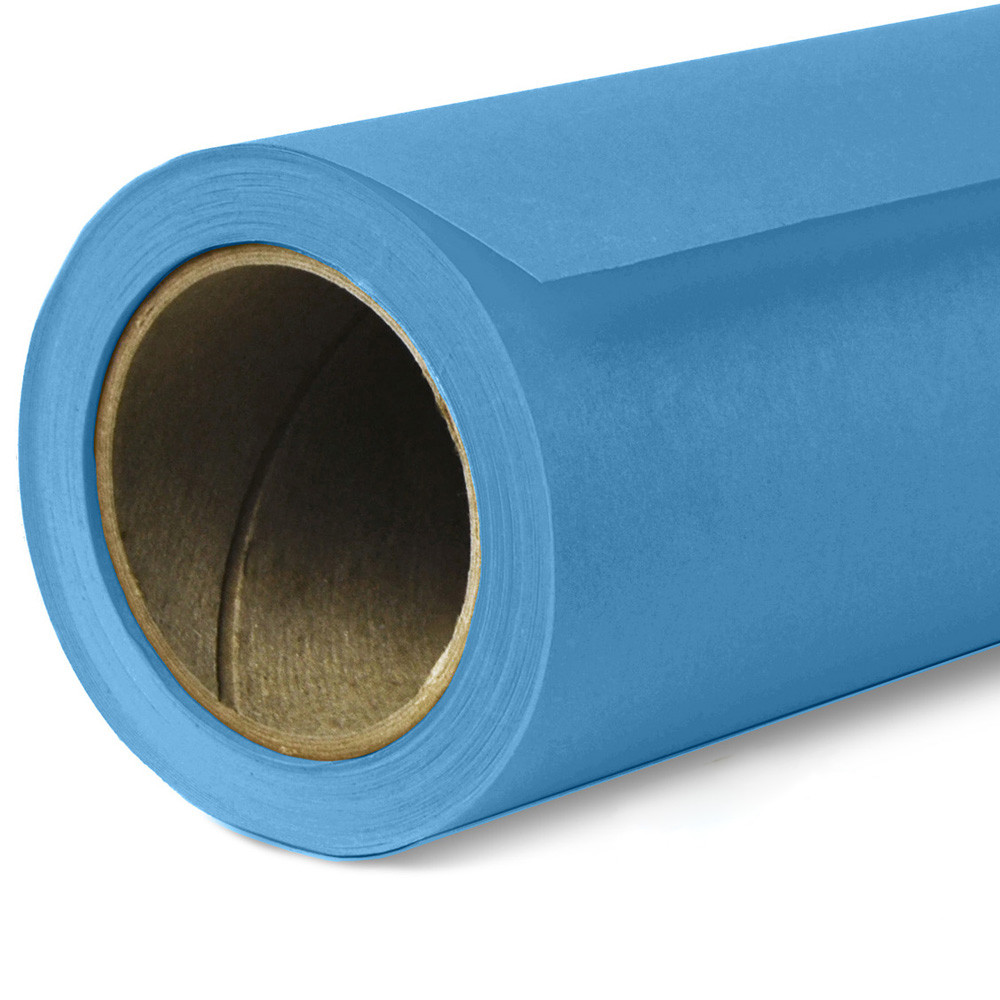 Фон бумажный Savage Widetone Regal Blue рулон 2.72 x 11 м