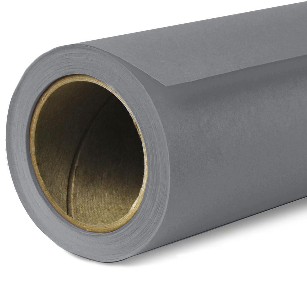 Фон бумажный Savage Widetone Smoke Gray рулон 1.36 x 11 м
