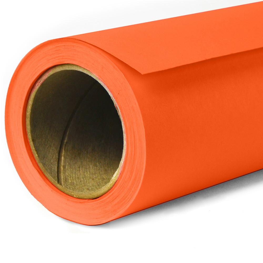 Фон бумажный Savage Widetone Tangelo 82 Оранжевый рулон 2.72 x 11 м