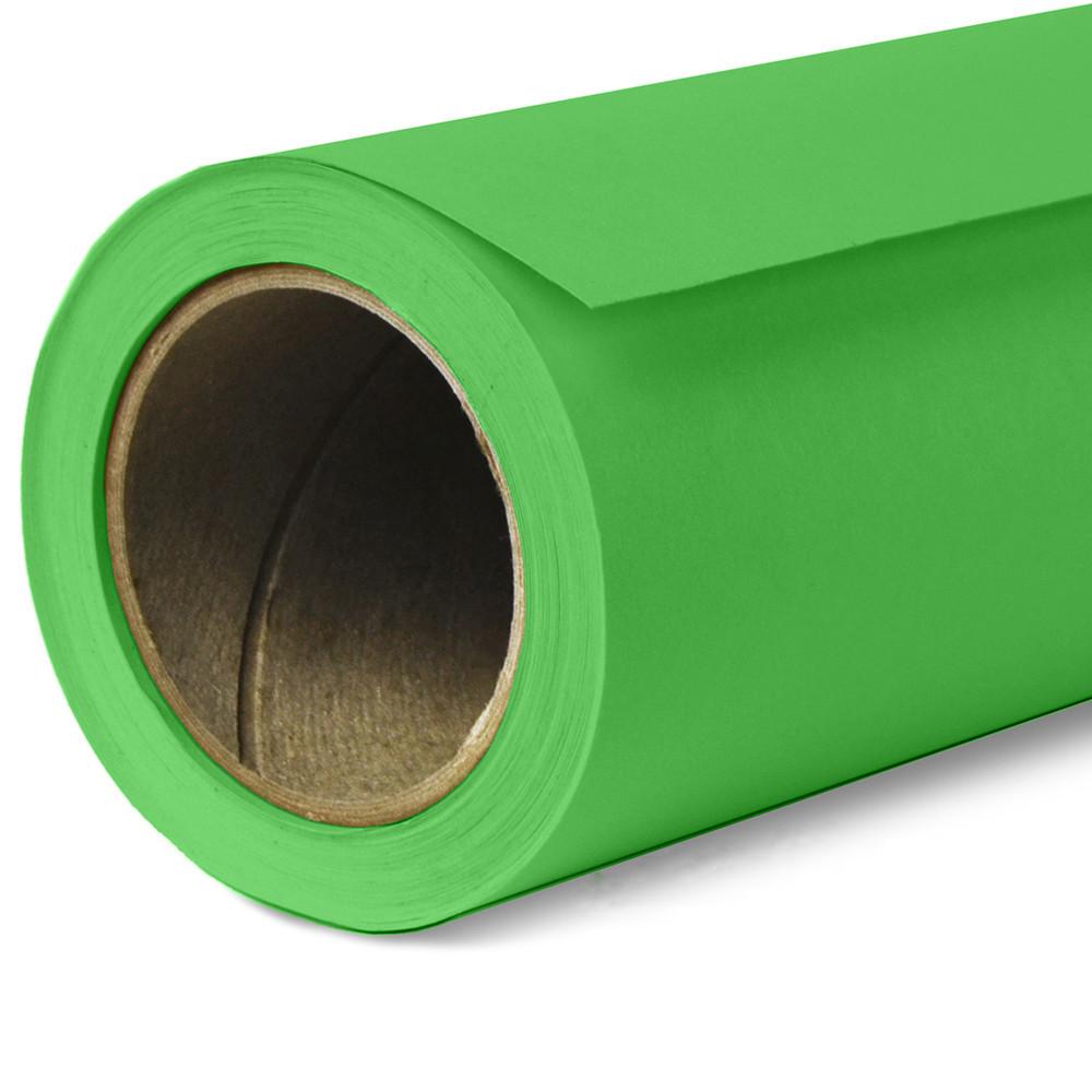 Фон бумажный Savage Widetone Tech Green Chromakey рулон 1.36 x 11 м