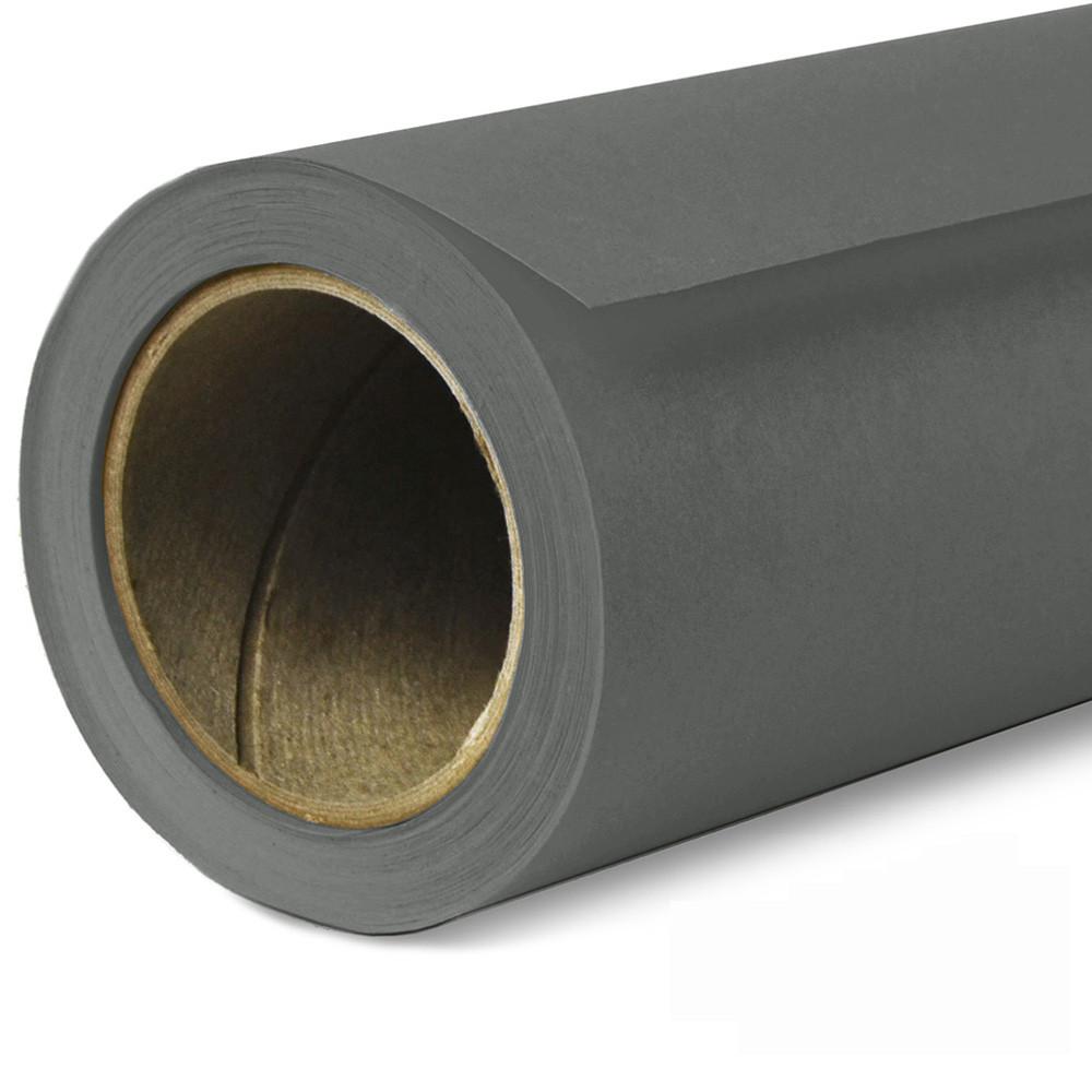 Фон бумажный Savage Widetone Thunder Gray рулон 2.72 x 11 м