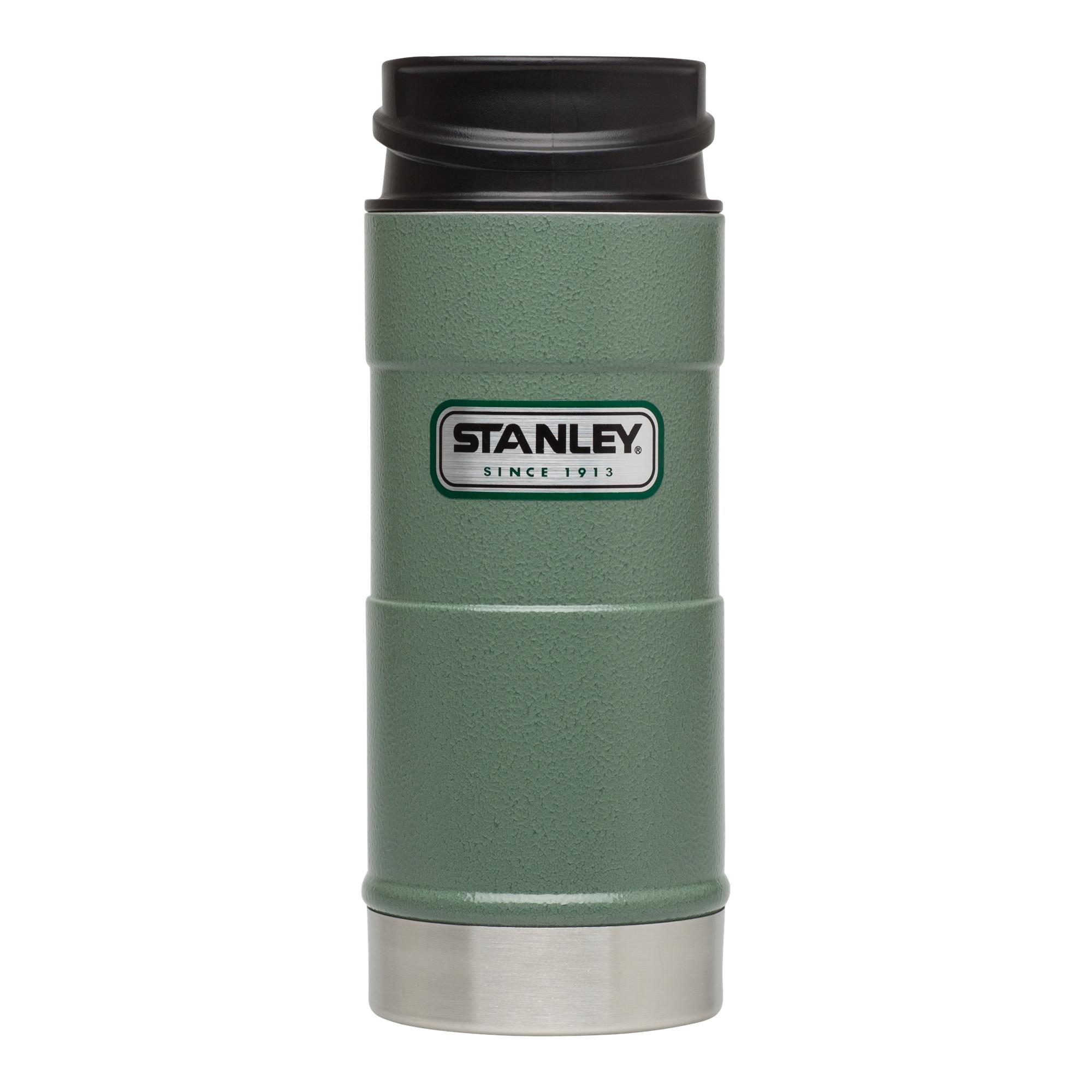 Термокружка Stanley Classic One Hand 0.47 л Green стальная