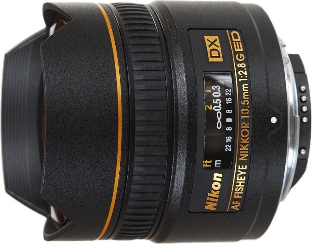 Объектив Nikon AF DX 10.5mm f/2.8G ED Fisheye