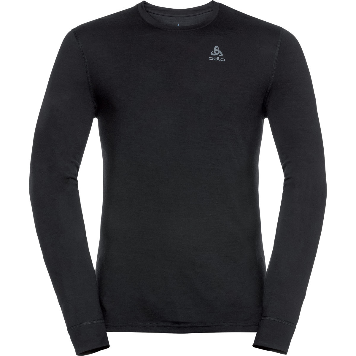 Термофутболка Odlo L/S Crew Neck Natural 100% Merino Warm (110812 Black M)