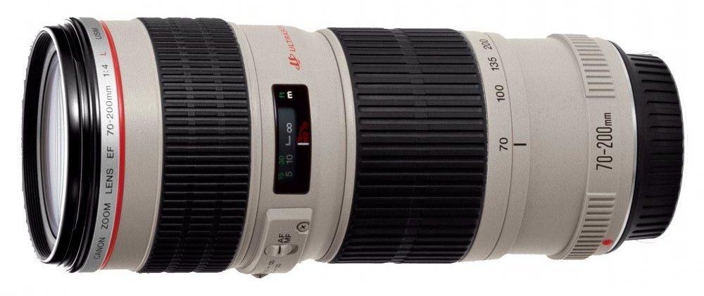 Объектив Canon EF 70-200mm f/4L USM