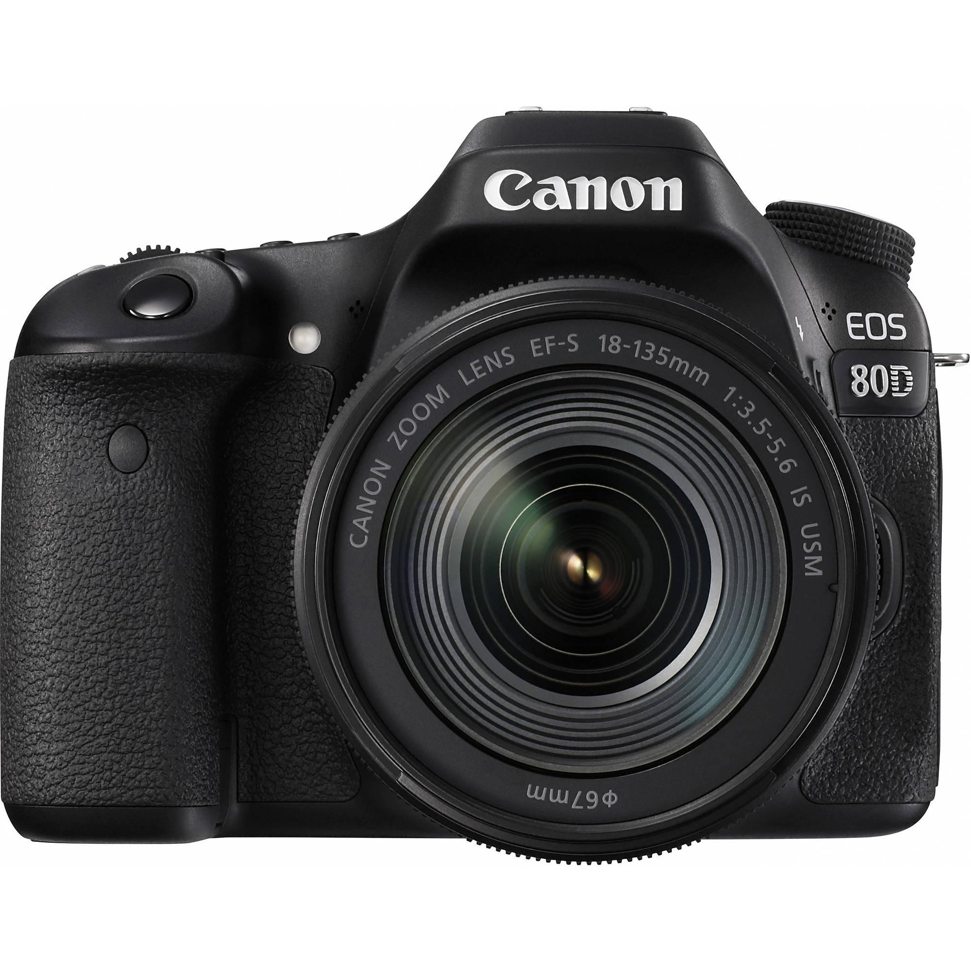 Фотоаппарат Canon EOS 80D Kit 18-135 IS Nano USM