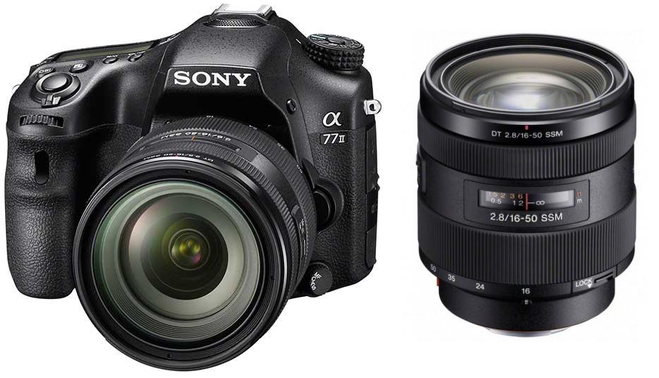 Фотоаппарат Sony Alpha A77 Mark II Kit 16-50 Black