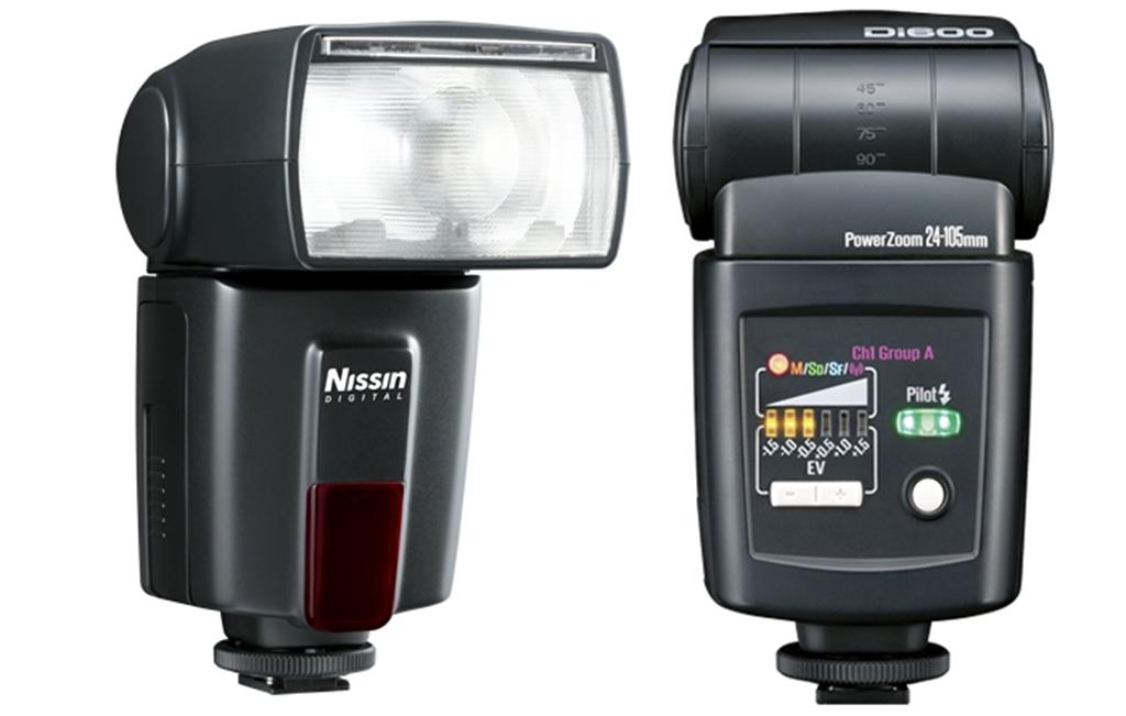 Накамерная вспышка Nissin Speedlite Di600 Nikon (ведущее число 44)