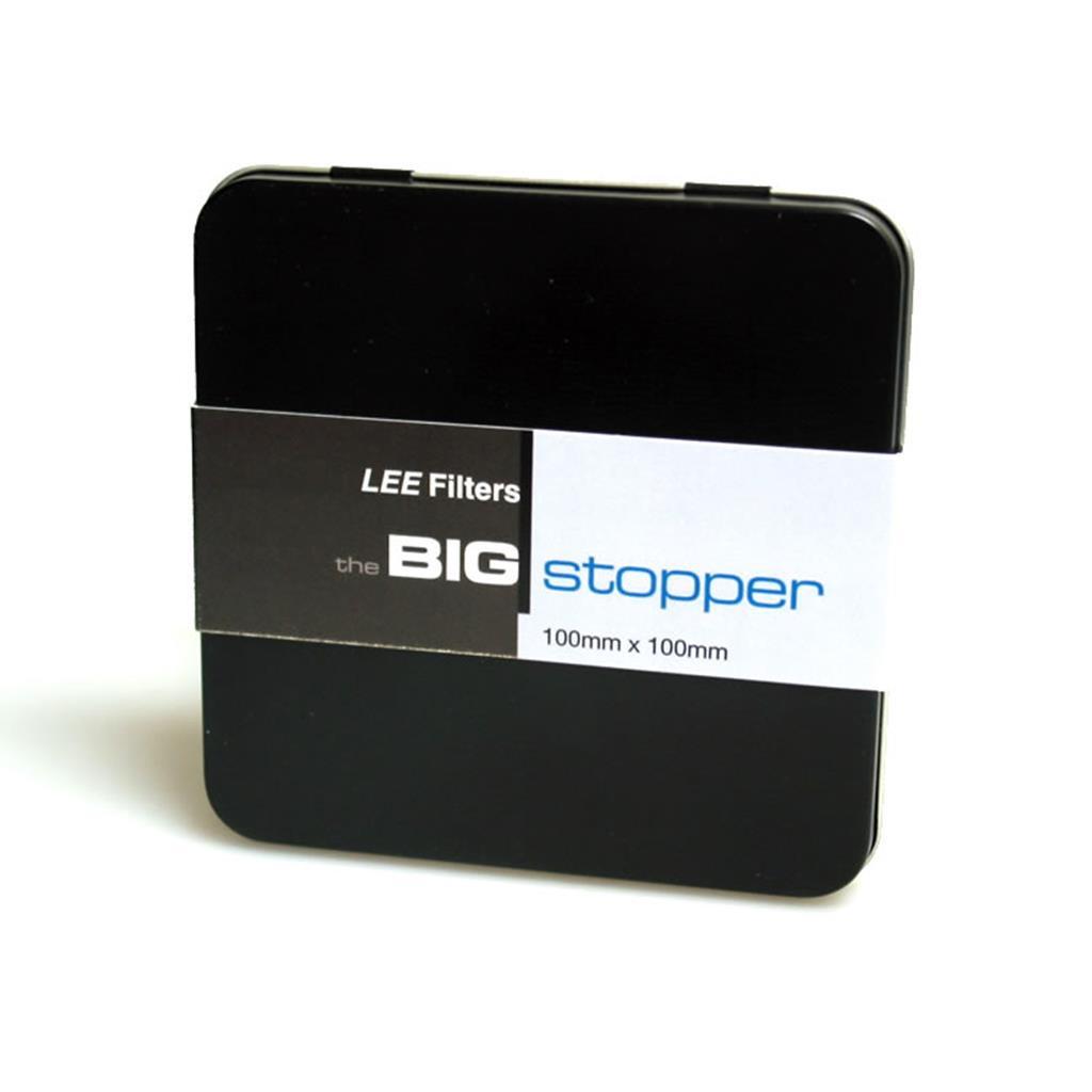 Чехол для фильтра жесткий LEE Big Stopper 100 мм Black Tin