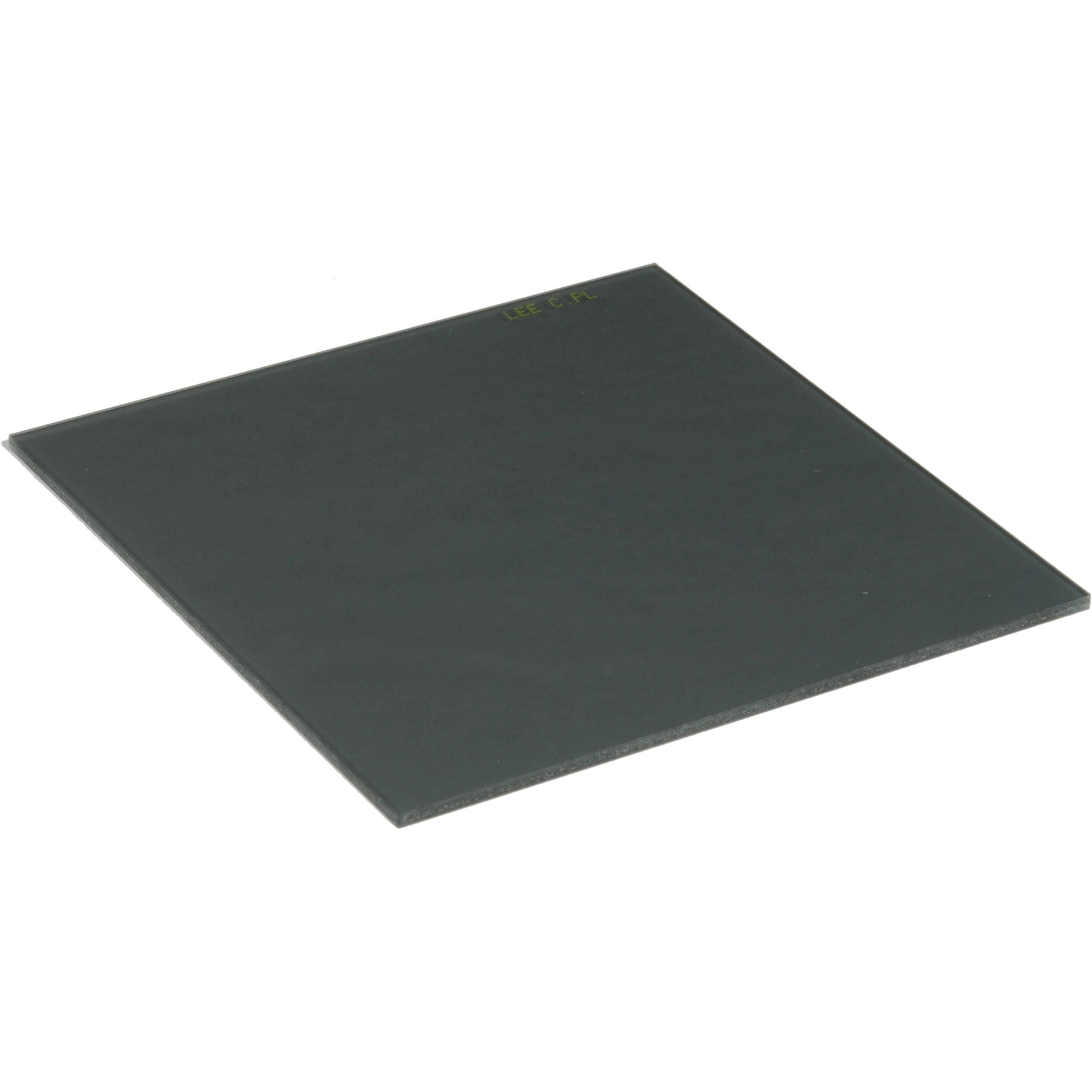 Фильтр поляризационный LEE Circular Polariser 100x100 мм Un 2 мм