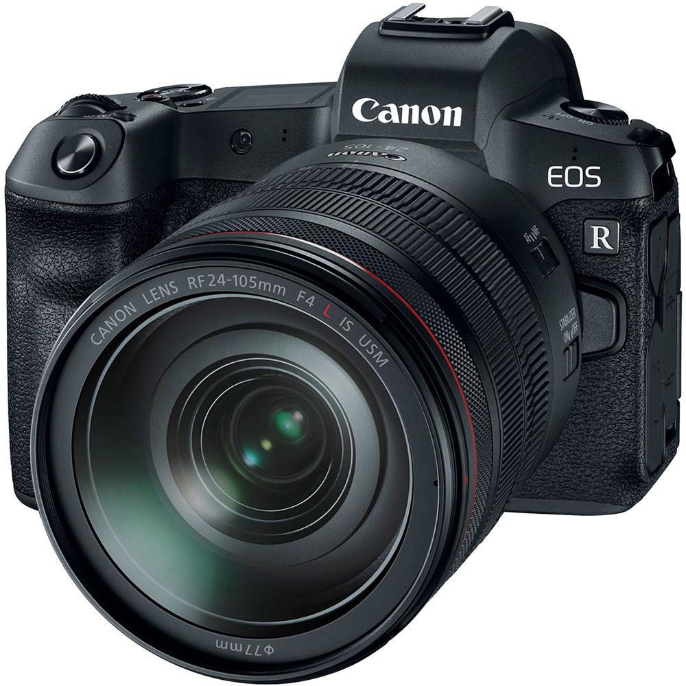 Фотоаппарат Canon EOS R Kit RF 24-105L + адаптер EF-RF