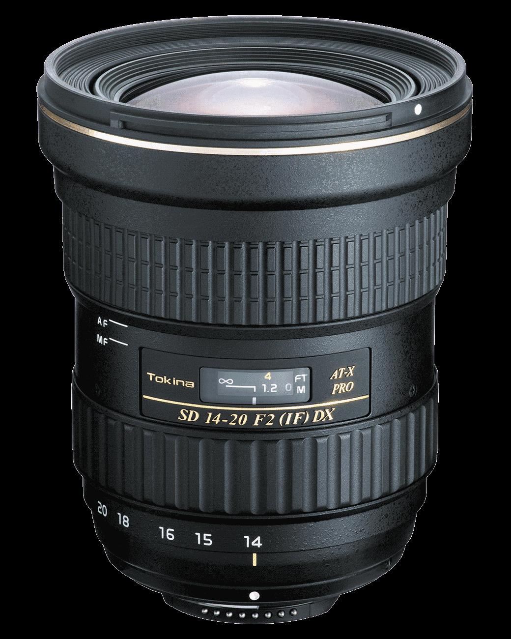 Объектив Tokina AT-X PRO DX 14-20mm f/2 (Canon)