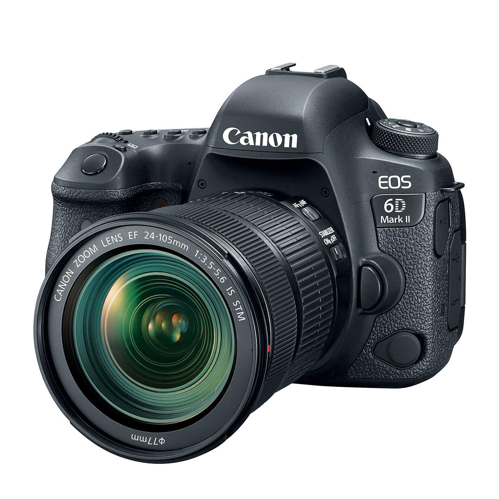 Фотоаппарат Canon EOS 6D Mark II Kit 24-105 IS STM