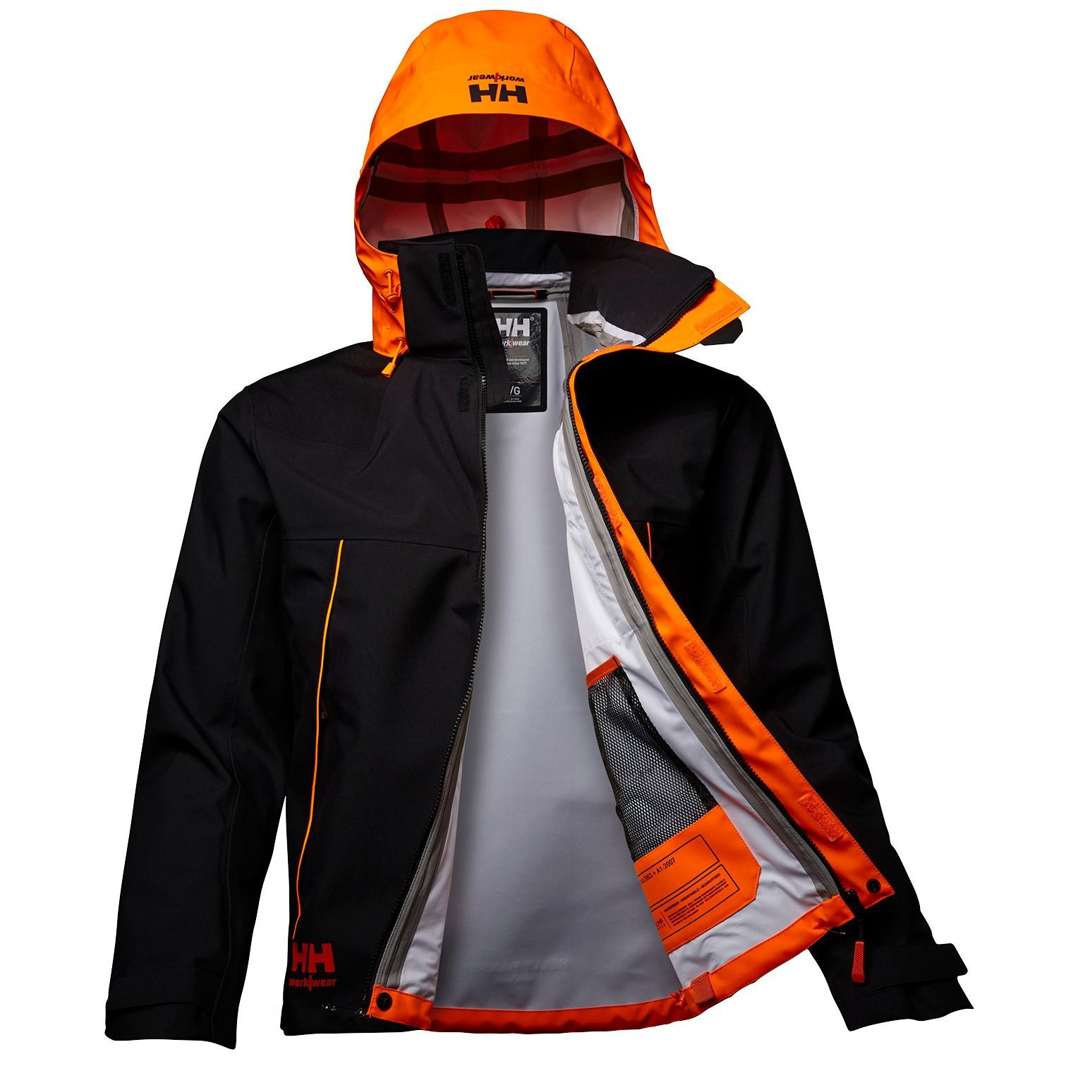 Куртка Helly Hansen Chelsea Evolution Shell Jacket - 71140 (Ebony; M)