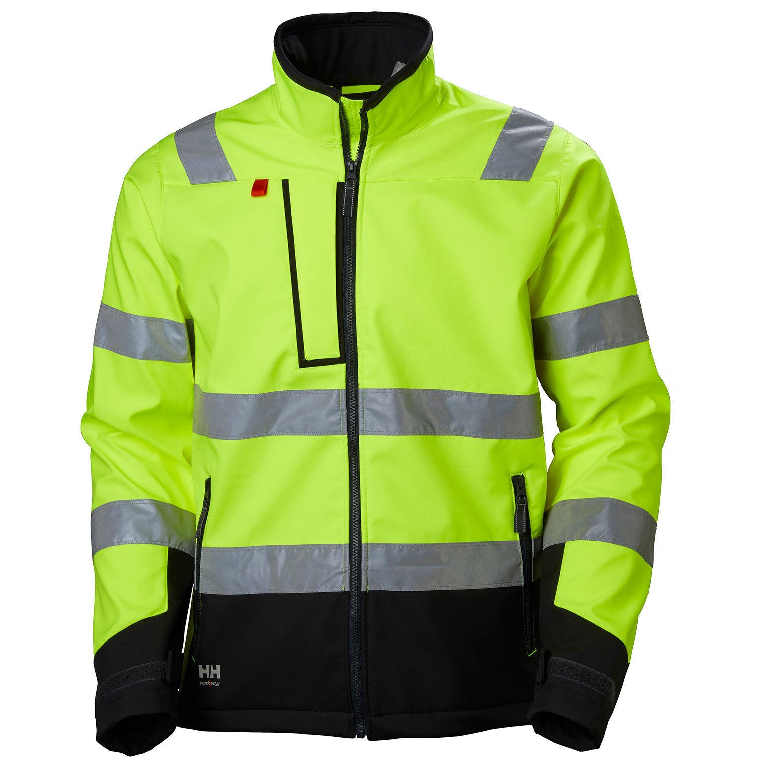 Куртка Helly Hansen Alna Softshell Jacket - 74094 (Yellow / Ebony; L)
