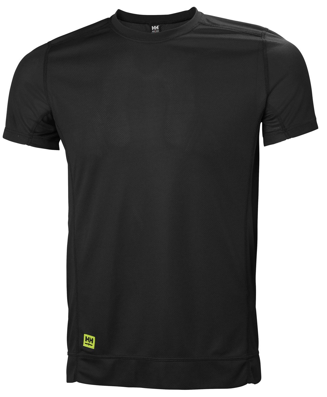 Футболка Helly Hansen HH Lifa T-Shirt - 75104 (Black; M)