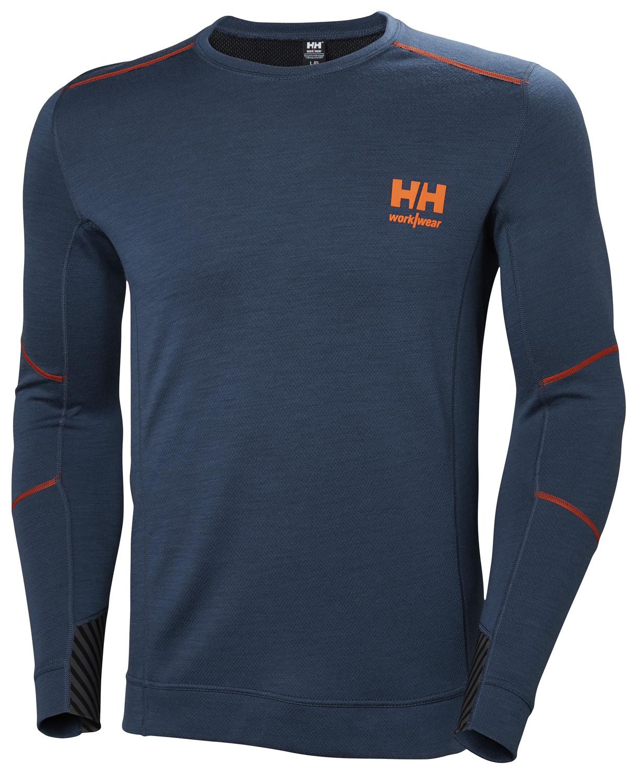 Футболка Helly Hansen HH Lifa Merino Crewneck - 75106