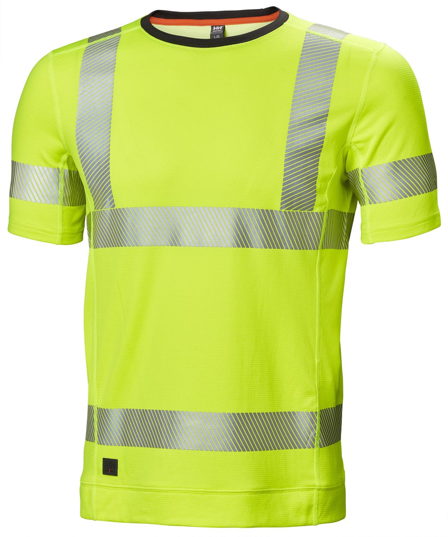 Футболка сигнальная Helly Hansen Lifa Active Hi Vis T-Shirt - 75113 (Hv Yellow; L)