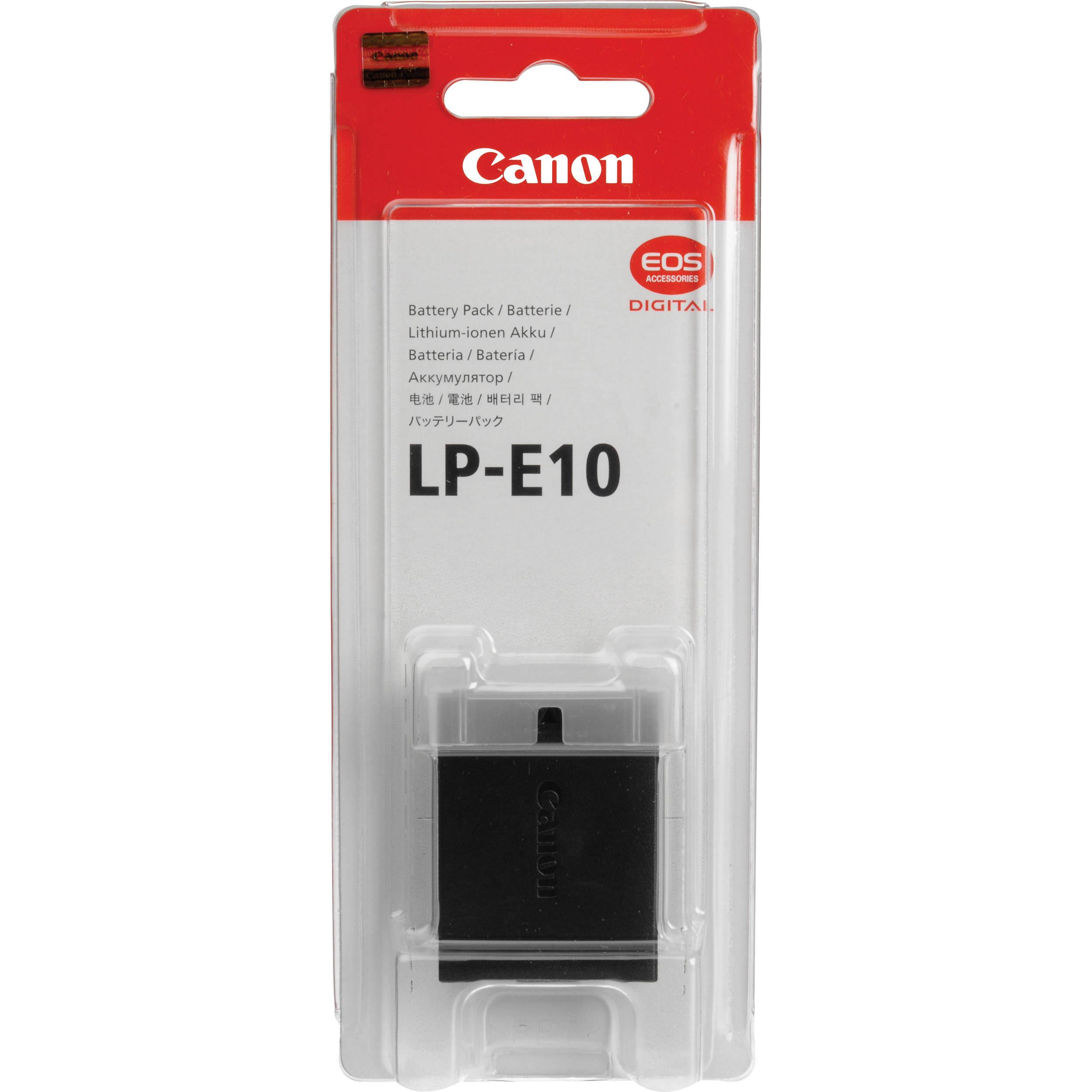 Аккумулятор Canon LP-E10 (1100D/1200D)