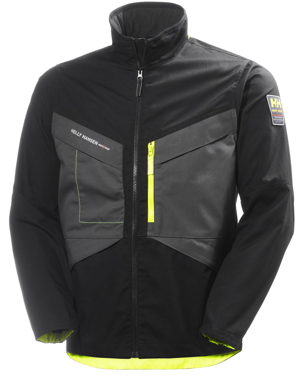 Куртка Helly Hansen Aker Jacket - 77200 (Black / Dark Grey; L)
