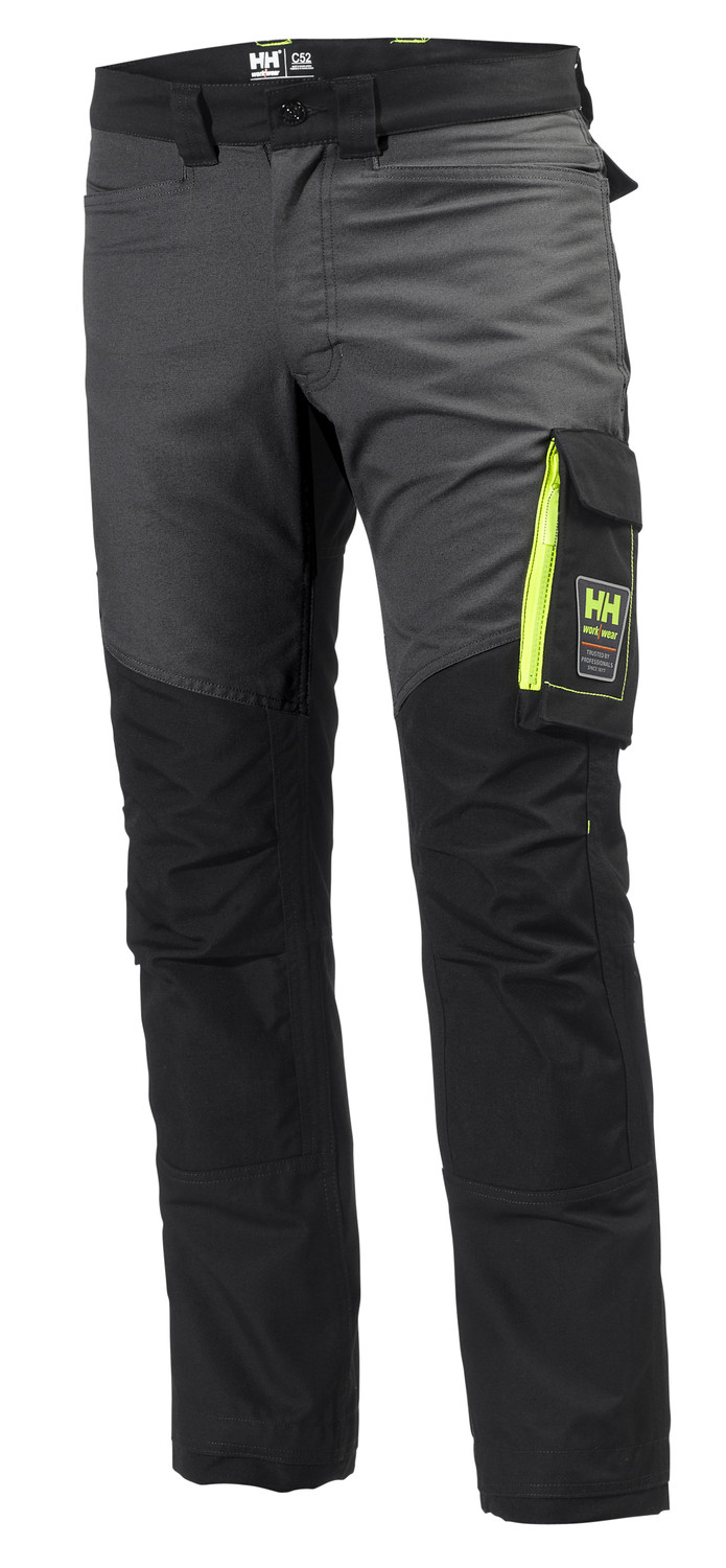 Штаны Helly Hansen Aker Work Pant - 77400 (Black / Dark Grey; W34/L32)