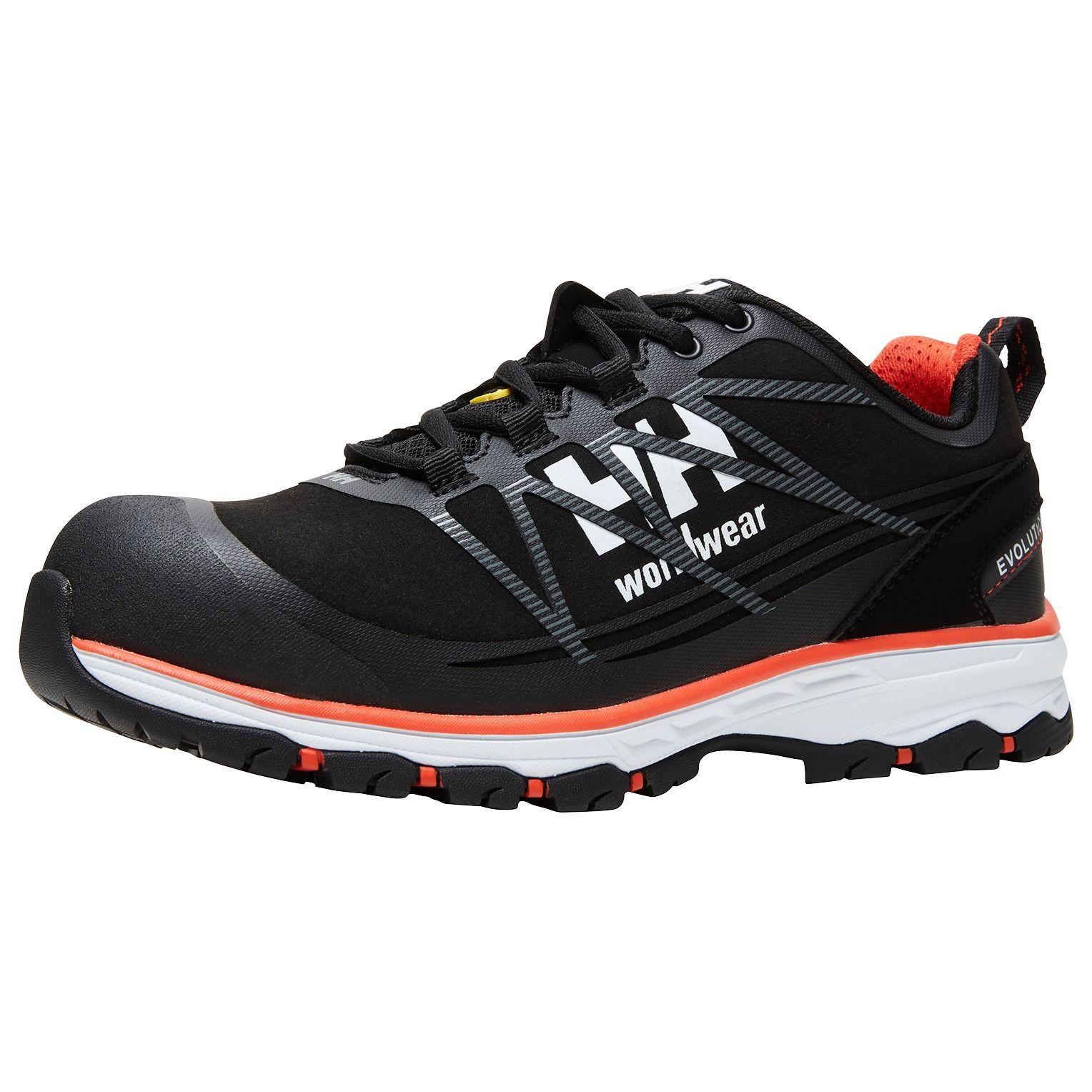 Демисезонные ботинки Helly Hansen Chelsea Evolution Low - 78224 (Black / Orange; 44)