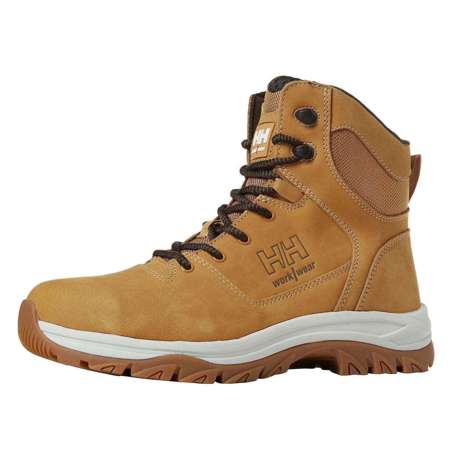 Демисезонные кожаные ботинки Helly Hansen Ferrous Boot - 78264 (Brown; 43)