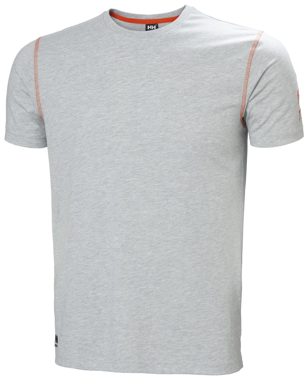 Футболка Helly Hansen Oxford T-Shirt - 79024 (Grey Melange, L)