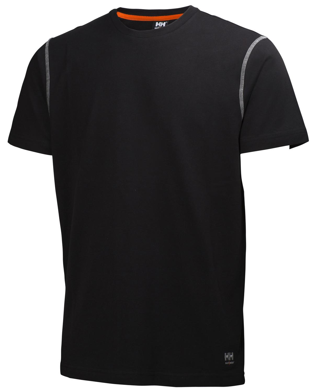 Футболка Helly Hansen Oxford T-Shirt - 79024 (Black, M)