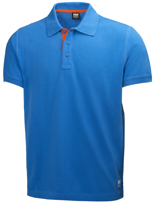 Футболка Helly Hansen Oxford Polo - 79025 (Racer Blue; L)