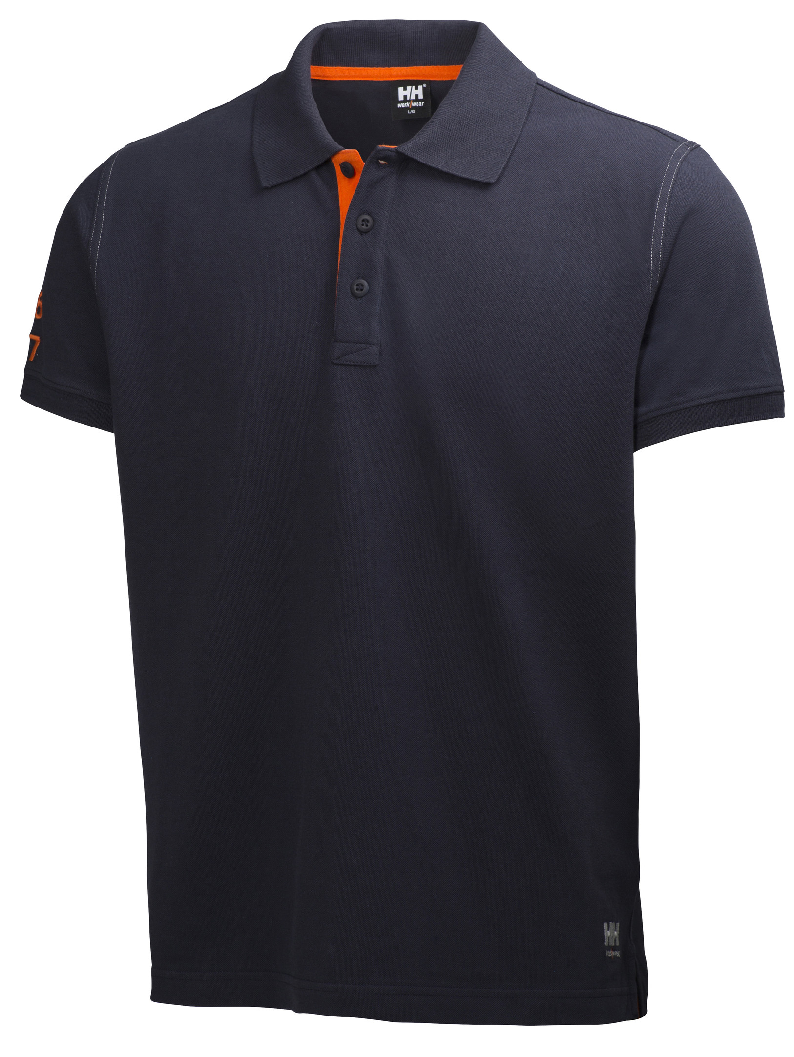 Футболка Helly Hansen Oxford Polo - 79025 (Navy; L)