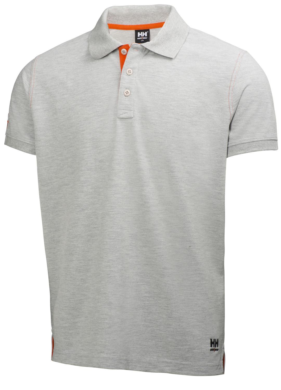 Футболка Helly Hansen Oxford Polo - 79025 (Grey Melange; L)