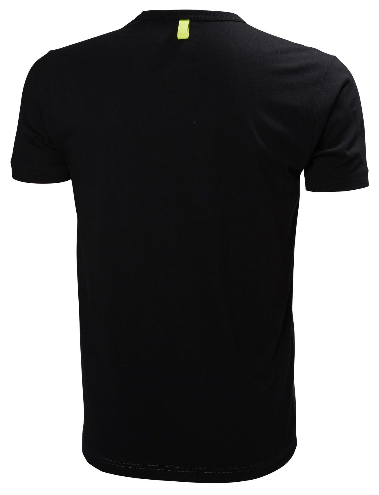 Футболка Helly Hansen Aker Tee - 79160 (Black; L)