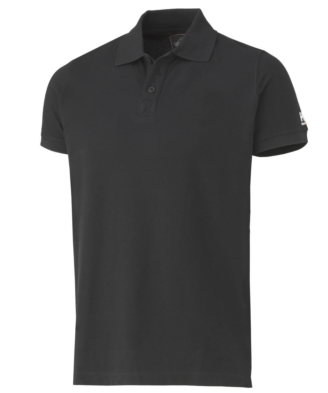 Футболка Helly Hansen Salford Pique - 79182 (Black; M)