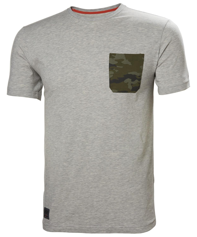 Футболка Helly Hansen Kensington T-Shirt - 79246 (Grey Melange Camo, M)