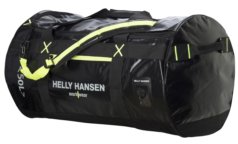 Сумка Helly Hansen Duffel Bag 50L - 79563 (Black / Yel / Contrast; STD)
