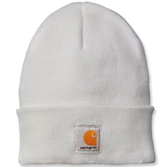Шапка Carhartt Acrylic Watch Hat - A18 (White, OFA)
