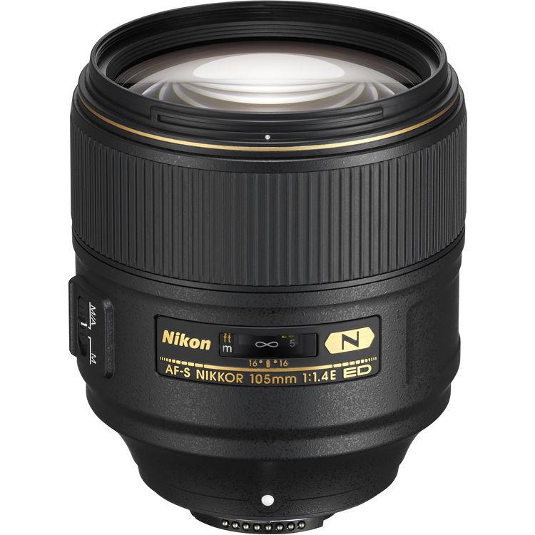 Объектив Nikon AF-S 105mm f/1.4E ED