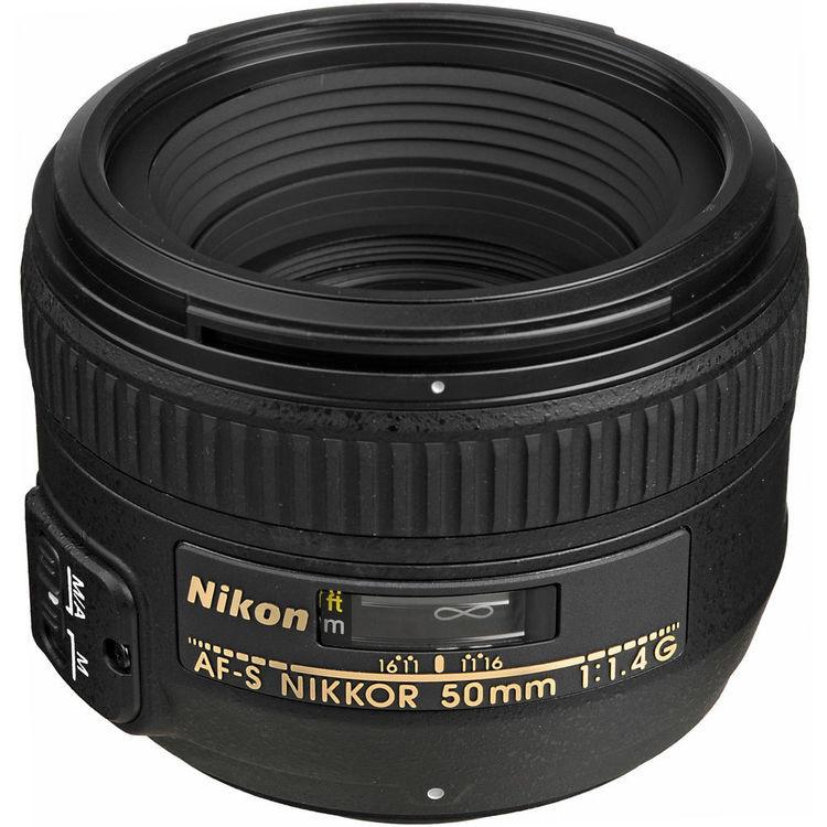 Объектив Nikon AF-S 50mm f/1.4G